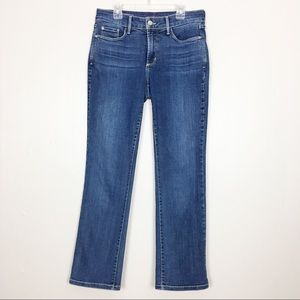 NYDJ Petite Women's Size 6P Marilyn Straight Jeans